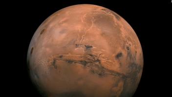 Marte será visible desde la Tierra durante octubre