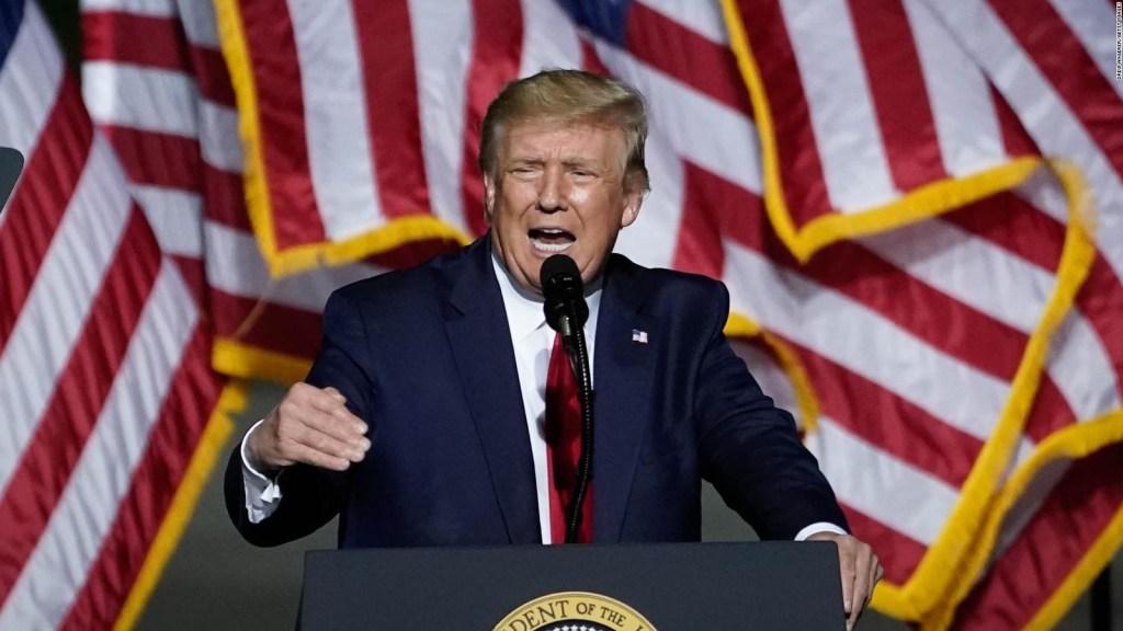 La posición de Donald Trump sobre el covid-19 en los Estados Unidos
