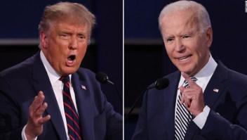 Silenciarán micrófonos a Trump y Biden en segundo debate