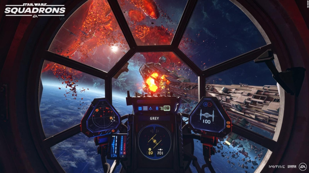 """Así se ve el nuevo videojuego """"Star Wars: Squadrons"""""""