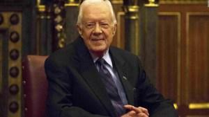 El expresidente Jimmy Carter cumple 96 años