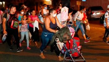 Se desintegra caravana migrante hacia EE.UU.