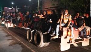 Caravana migrantes Honduras