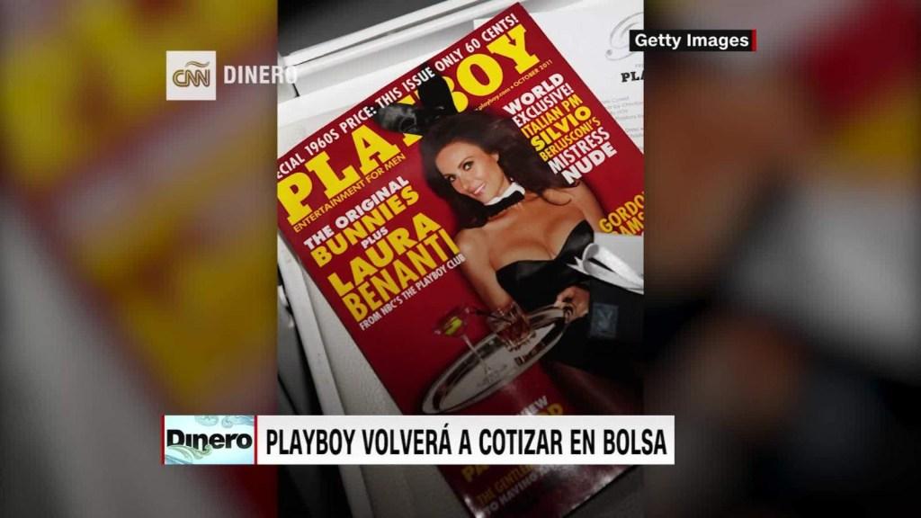 Playboy regresa a Wall Street