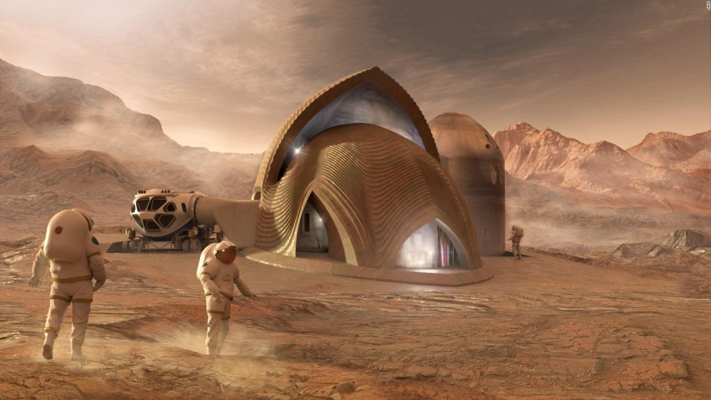 La NASA planea construir en la Luna y Marte: ¿cómo será?