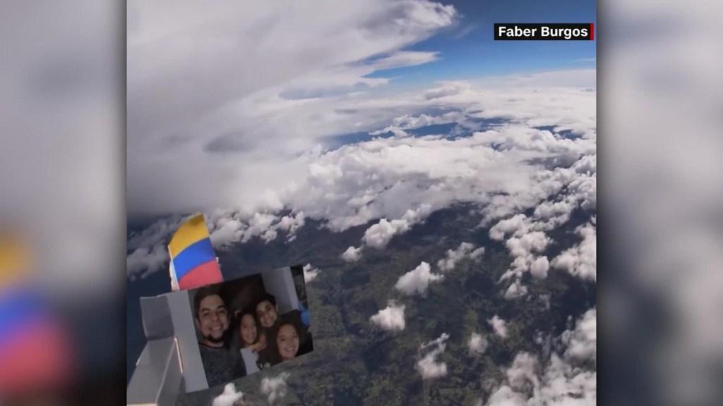 """""""Influencia"""" registrar el planeta con globo y una GoPro"""