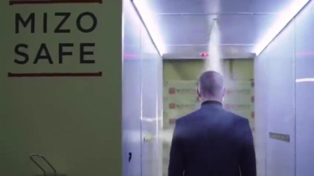 El túnel para proteger a Vladimir Putin del covid-19