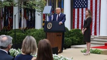 Todos los eventos a los que asistió Trump previo a ser diagnosticado con covid-19