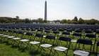 20.000 sillas vacías como símbolo de casi 210.000 muertes