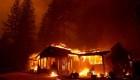 Lluvia en California, ¿ayuda contra incendios forestales?