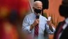 Encuesta: Biden lidera en intención de voto en 2 estados clave