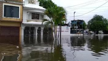 Reportan miles de damnificados en México tras paso de Gamma