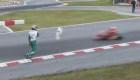 "Investigan a piloto de ""karting"" por atacar a otro corredor"