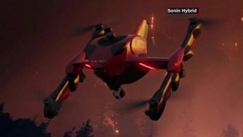 Recruit, un dron construido para ayudar a socorristas