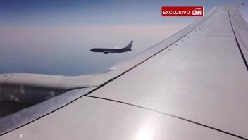 Exclusivo: vuelo de vigilancia de EE.UU. sobre Mar Negro