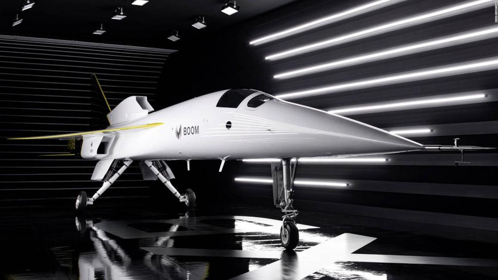 Conoce el XB-1, un avión prototipo supersónico