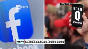 Facebook dice que bloqueará a QAnon