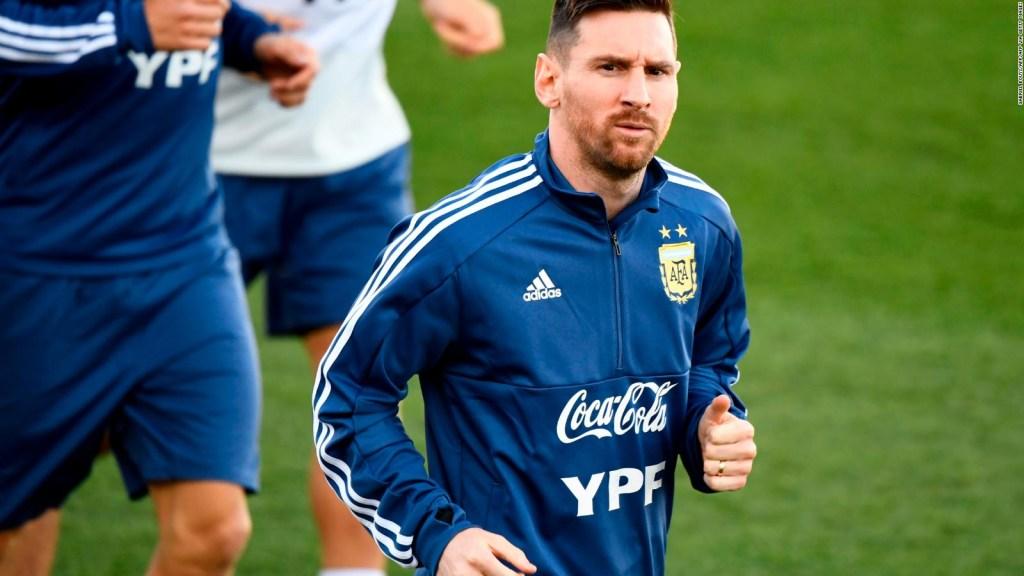 Messi motivado para enfrentar a Ecuador, según Scaloni