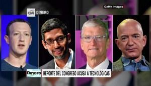 Congreso de EE.UU. llama monopolios a 4 tecnológicas