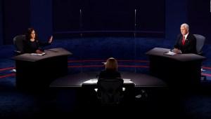 Encuesta: así vieron las mujeres el debate Pence-Harris