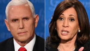 """El debate entre Harris y Pence estuvo """"descafeinado"""""""