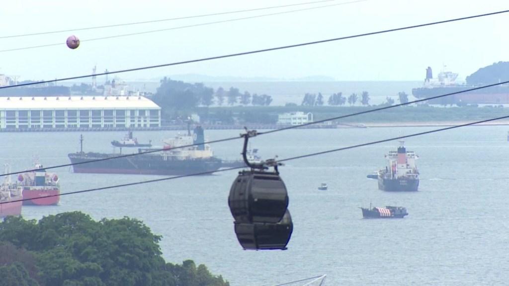 Singapur ofrece cruceros a ninguna parte