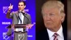 Controversia por declaraciones de Suárez sobre visita de Trump a Miami
