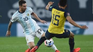 Argentina ganó 1-0 a Ecuador en debut de las eliminatorias