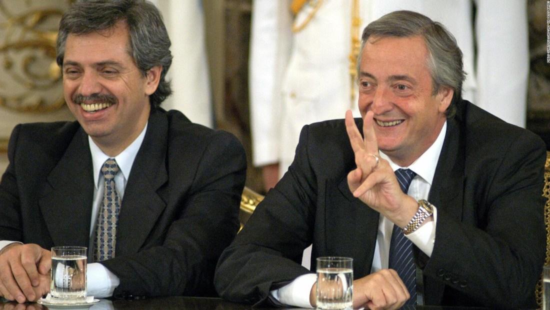 Fernández se emocionó al recordar a Néstor Kirchner
