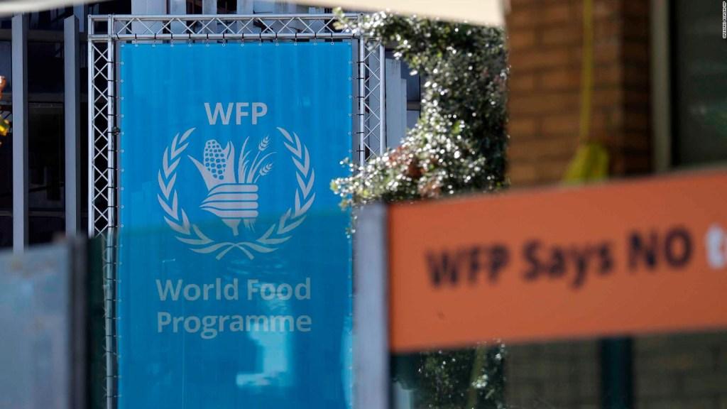 Programa Mundial de Alimentos gana el Nobel de la Paz
