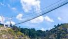 Conoce el puente peatonal colgante más largo del mundo