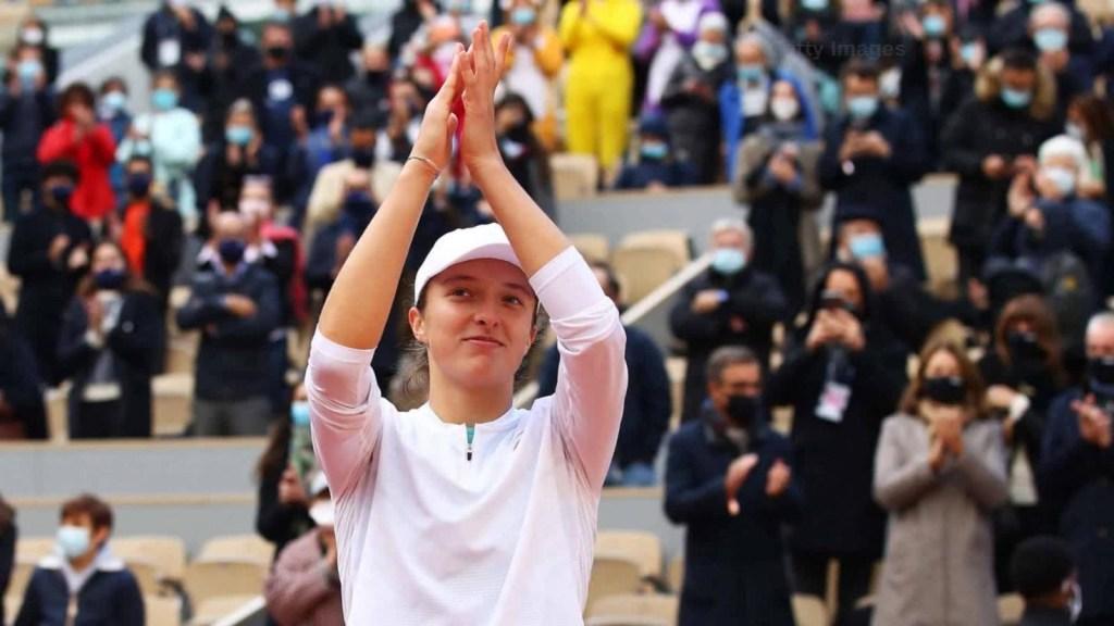 Iga Swiatek, la sorpresiva reina en Roland Garros