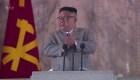 Corea del Norte presenta un misil balístico enorme