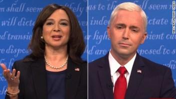 """Así imitaron el debate vicepresidencial en el show """"SNL"""""""
