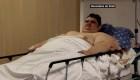 Su obesidad no le impidió vencer al covid-19