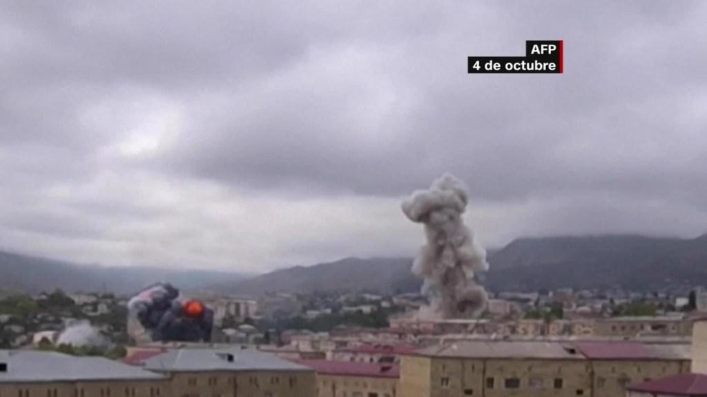 Alto al fuego entre Armenia y Azerbaiyán, en peligro