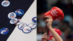 Biden supera a Trump en intención de voto en Carolina del Norte