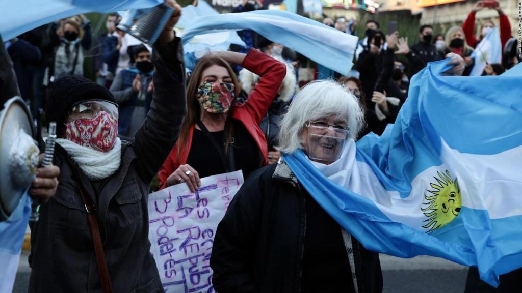 Banderazo contra el gobierno de Fernández