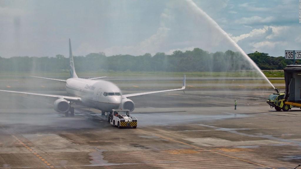 Panamá reactiva vuelos internacionales