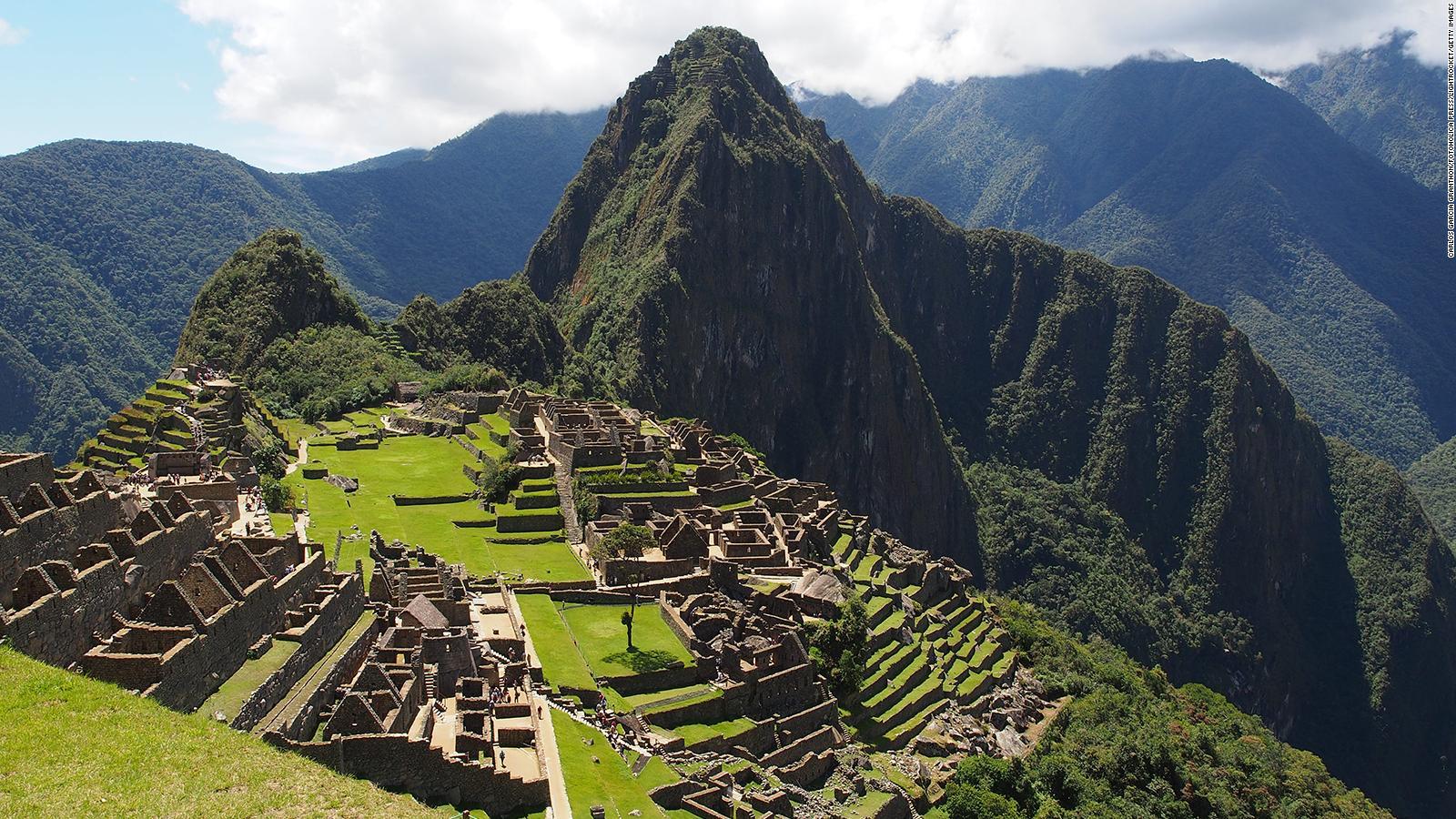 Suspenden La Entrada A Machu Picchu Por Protestas Cnn