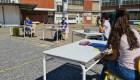 Vuelven las clases al aire libre en Buenos Aires