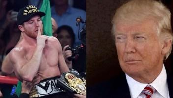 "El ""Canelo"" Álvarez arremete contra Donald Trump"