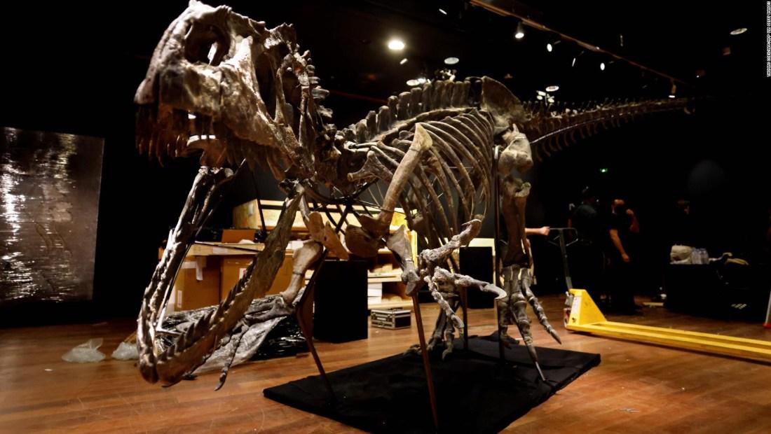 Pagan US$ 3,5 millones por un esqueleto de Allosaurus