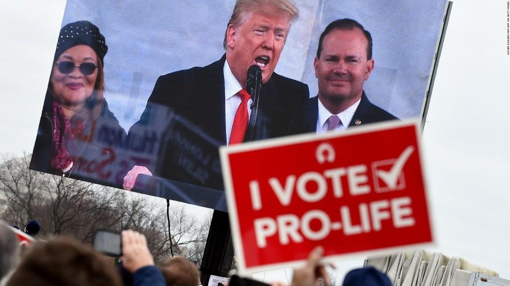 Un análisis del mensaje antiaborto de Donald Trump