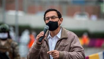 Vizcarra negó haber recibido dinero ilícito