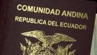 Así son los nuevos pasaportes de Ecuador