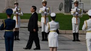 Xi Jinping llama a las tropas a estar en pie de guerra