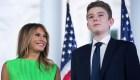 Melania Trump: mi hijo Barron tuvo covid-19