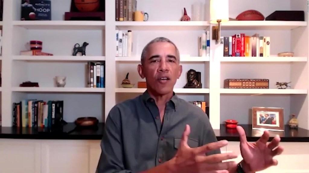 Obama: Hay que luchar contra la desinformación en EE.UU.