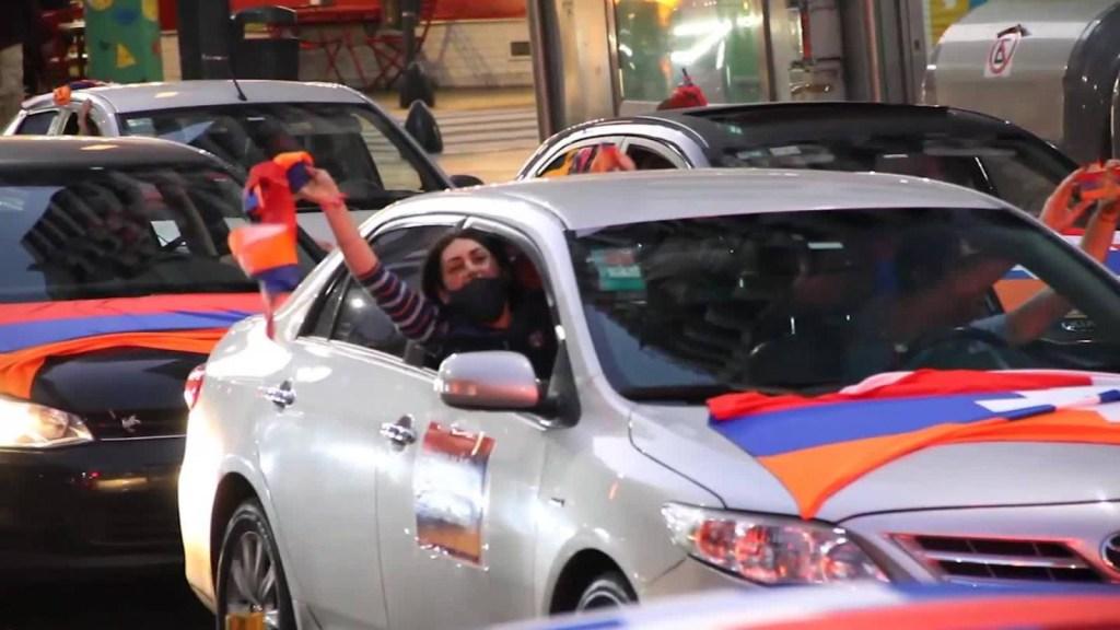 Armenios en Argentina piden la paz en Nagorno-Karabaj